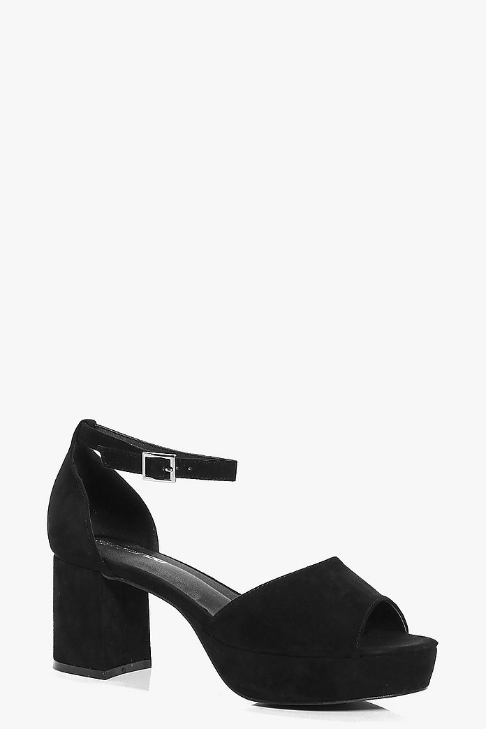 Grace Two Part Peeptoe Platform