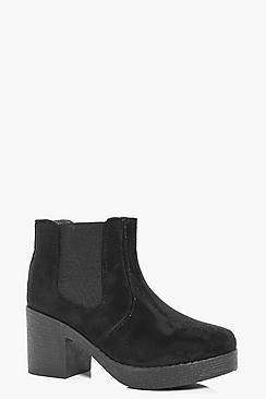 Lilly Chunky Sole Chelsea Boot