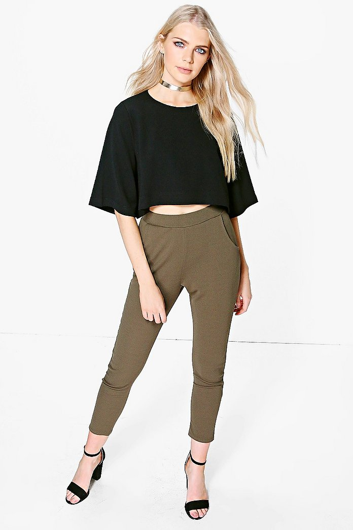 Wendy Contrast Trouser & Shell Top Co-Ord
