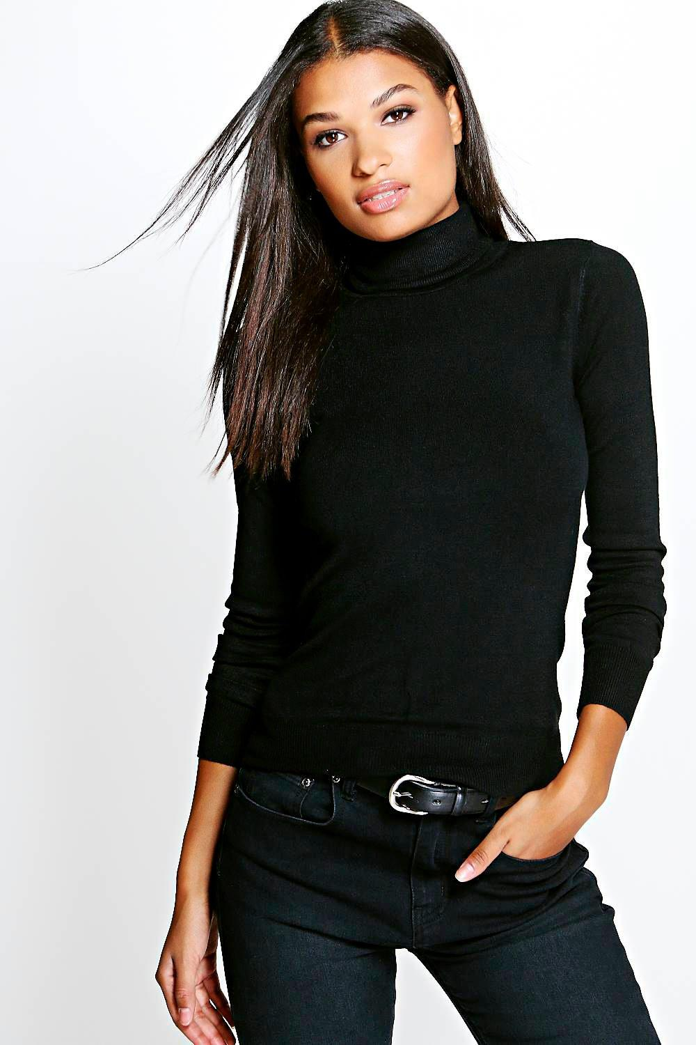 Isabella Turtle Neck Jumper