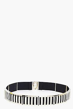 Eliza Metal Statement Waist Belt