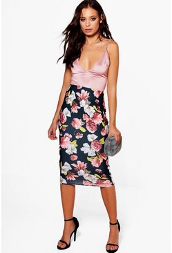 Sophie Winter Floral Midi Skirt