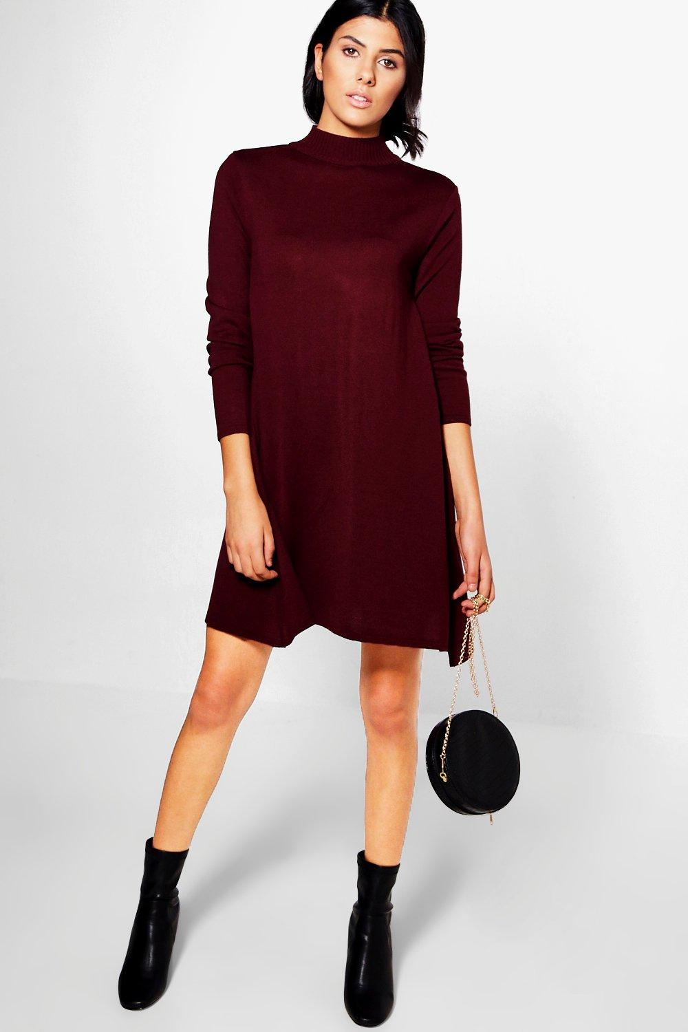 Imogen Fine Knit Swing Dress