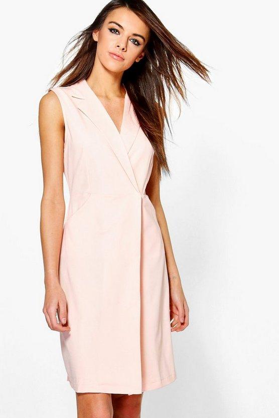 Eleanor Sleeveless Collared Dress