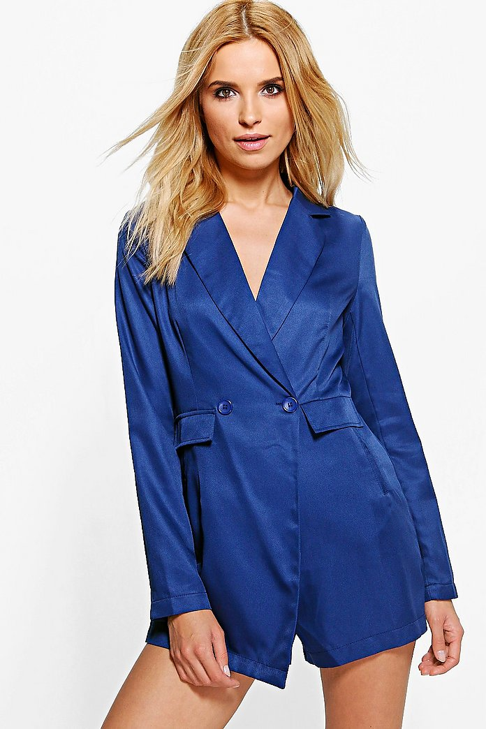 Isabel Blazer Tailored Woven Playsuit