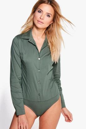 Florence Long Sleeve Woven Shirt Body