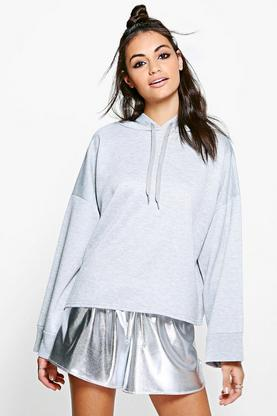 April Wide Sleeve Oversized Hoody