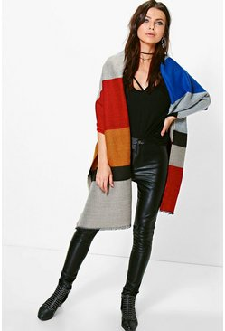 Esme Colour Block Cape