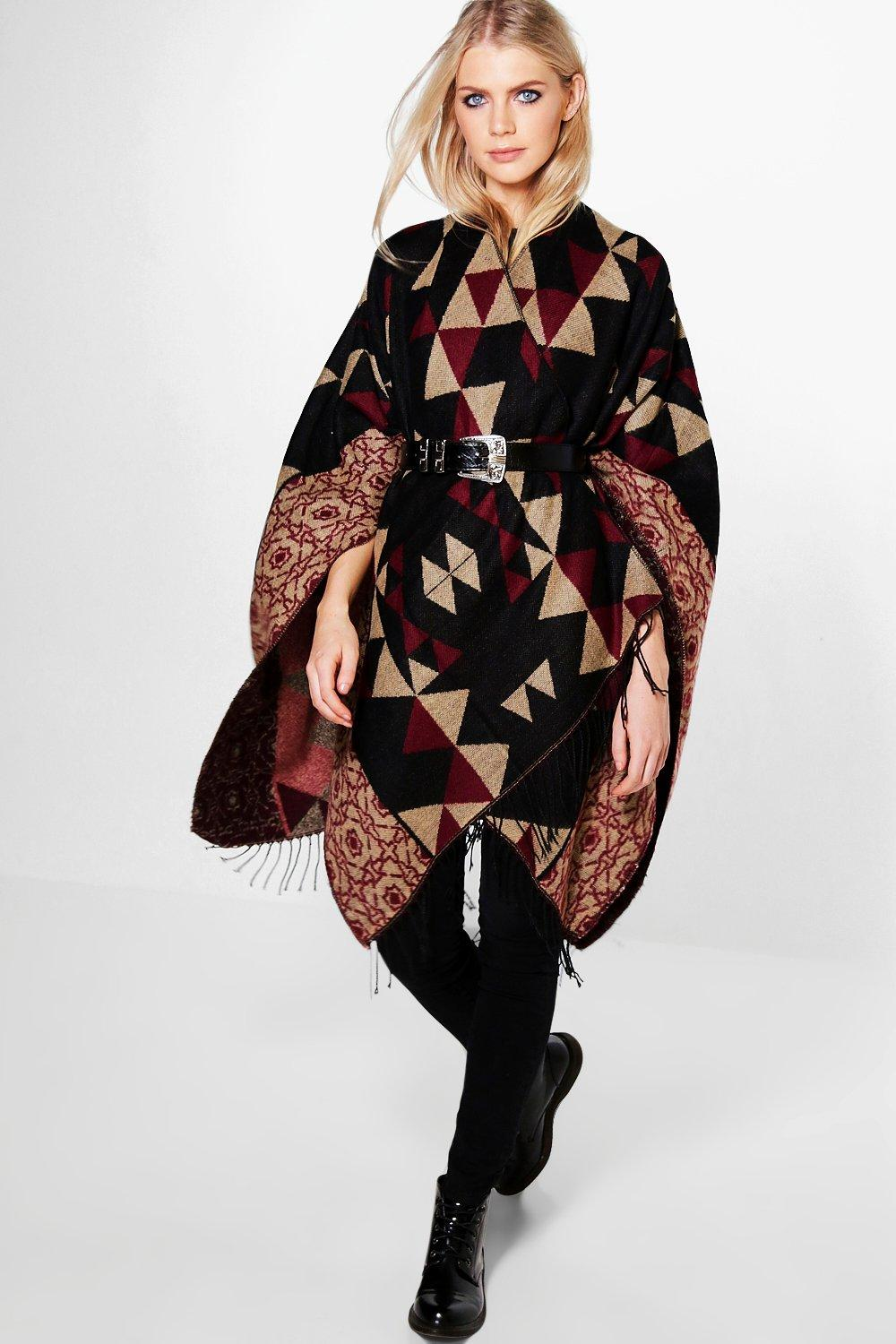 Willow Tile Patterned Cape