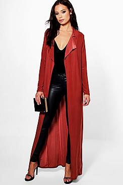 Eve Slinky Maxi Duster Trench
