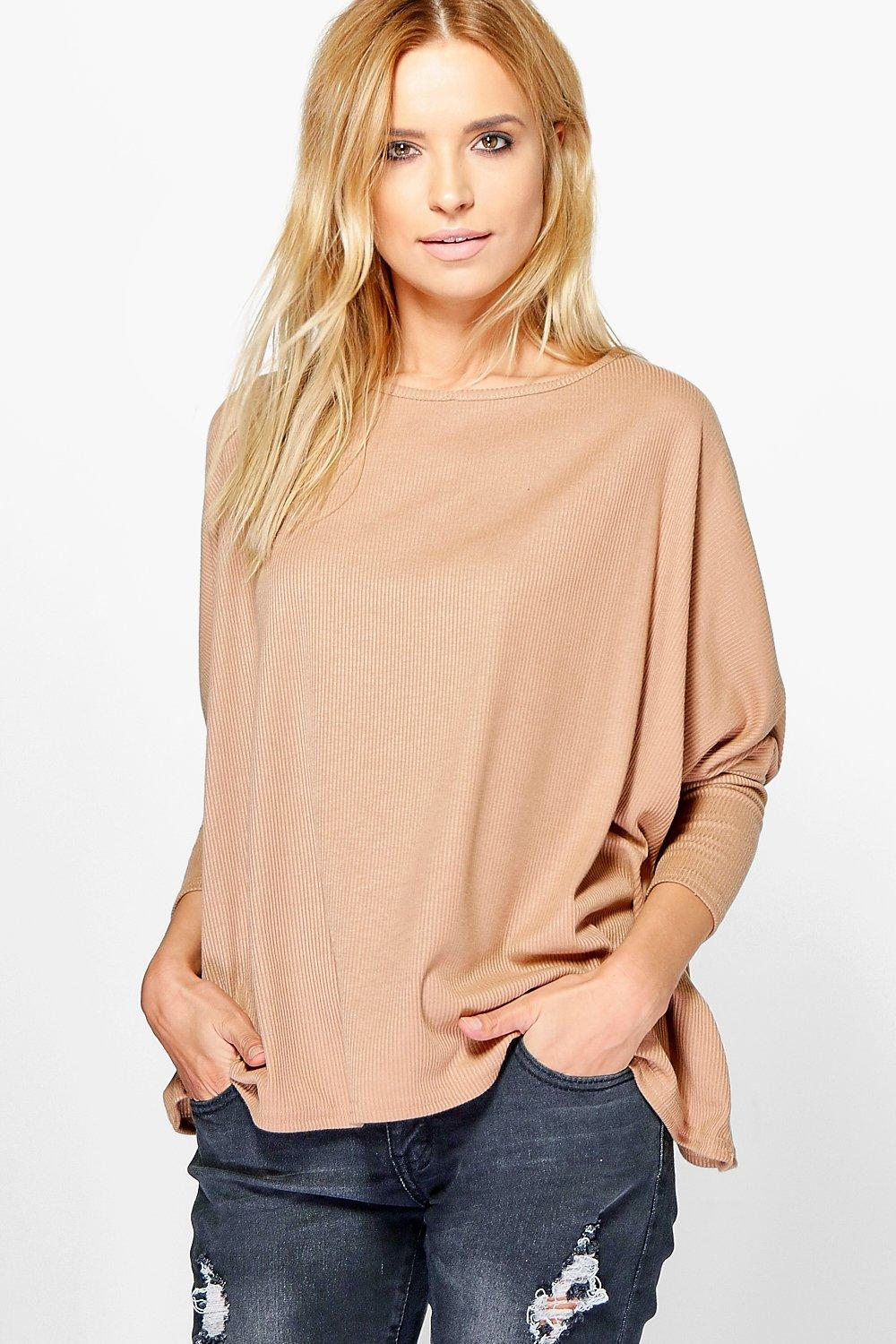 Abigail Oversized Rib Knit Jumper