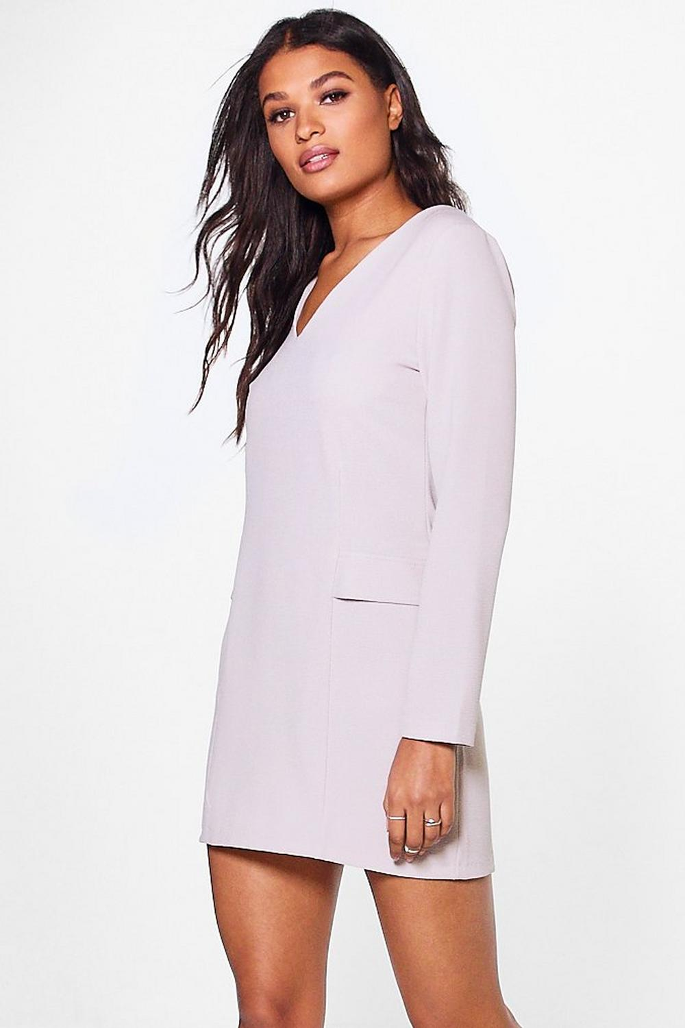Imogen Tailored Woven Shift Dress