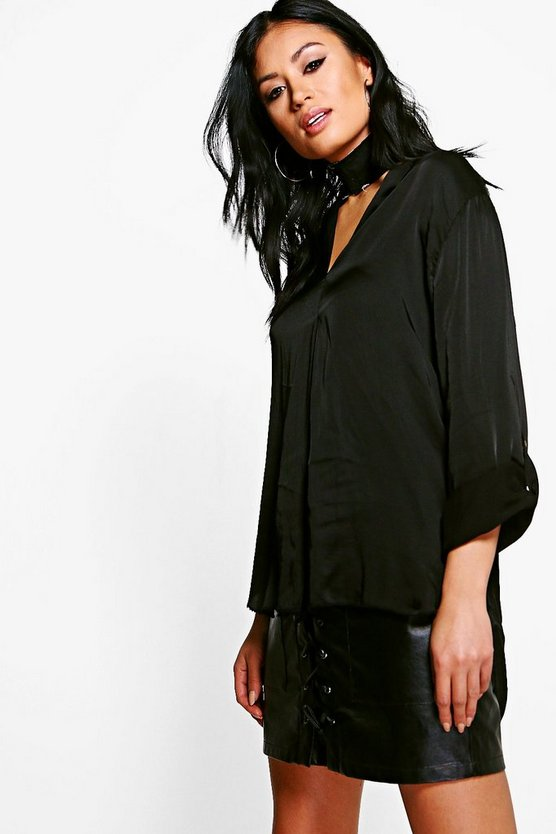 Isolde Satin Shirt