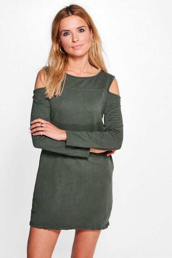 Penny Cold Shoulder Sweat Dress