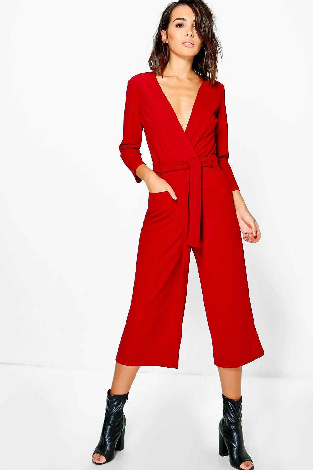 Shop wide leg jumpsuit at Neiman Marcus, where you will find free shipping on the latest in fashion from top designers.