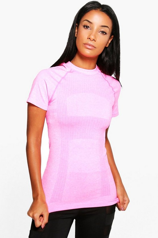 Charlotte Fit Seamless Running Tee