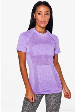 Millie Fit Seamless Running Tee