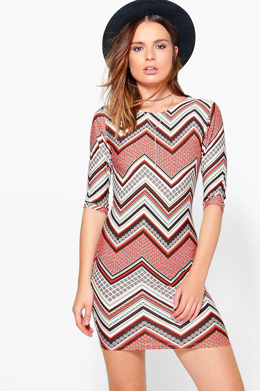 Adelaide Long Sleeve Bodycon Dress
