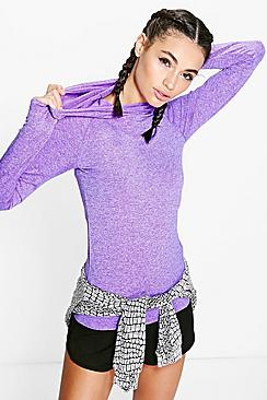 Maya Fit Seamless Running Hoody
