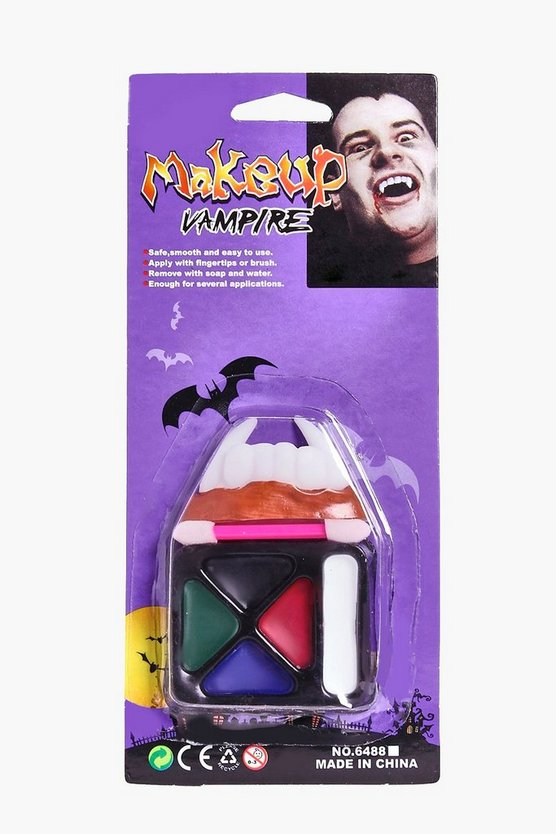 Halloween Vampire Teeth Make Up Set