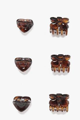 Poppy Butterfly Clip 6 Pack