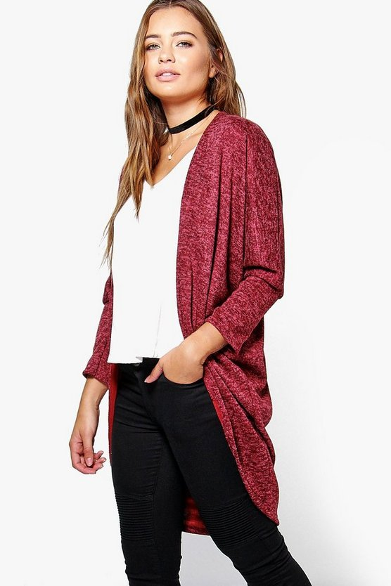 Grace Soft Knit Cocoon Cardigan