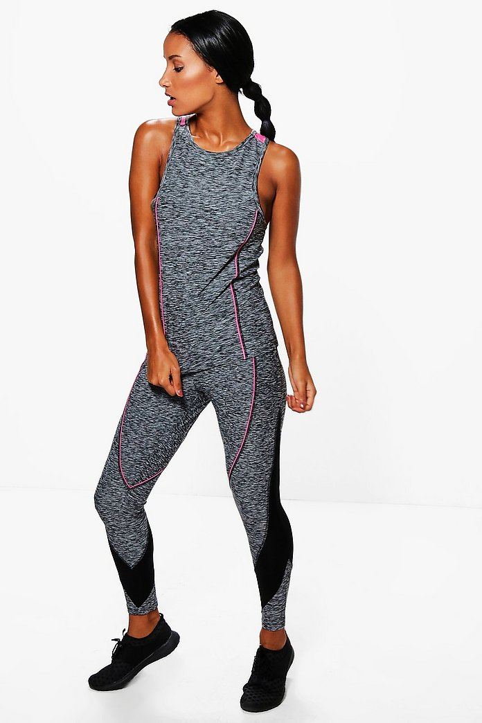 Elise Fit Panel Running Leggings