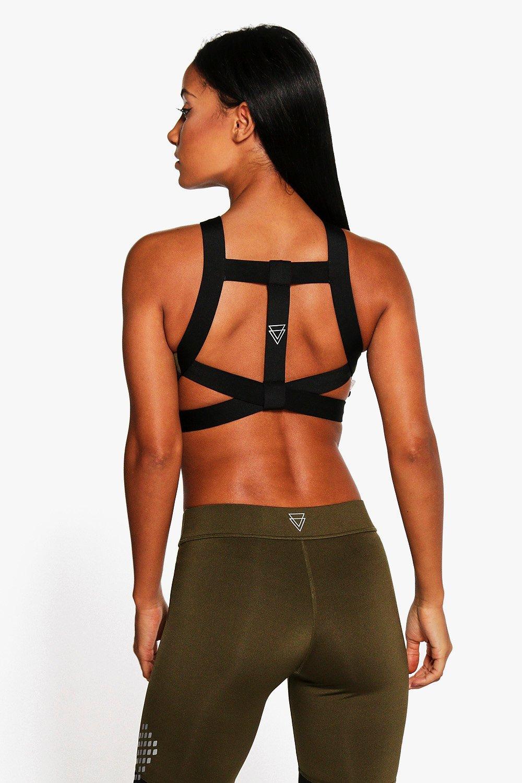 Product photo of Fit t bar sports bra khaki