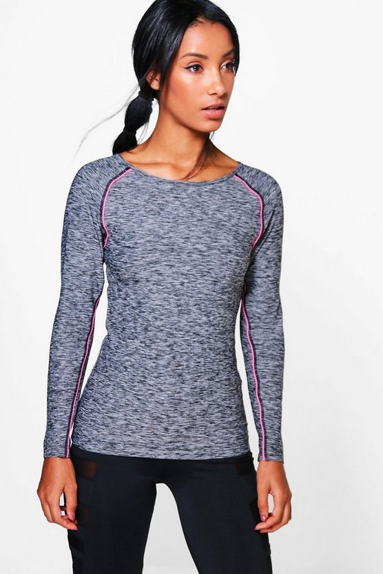 Amy Fit Long Sleeve Running Tee