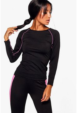 Brooke Fit Long Sleeve Running Tee