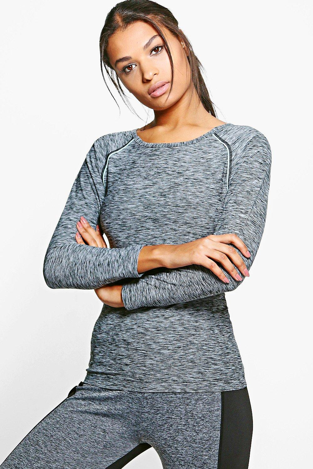 Molly Fit Longsleeve Running Tee