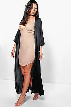 Millie Maxi Silky Duster
