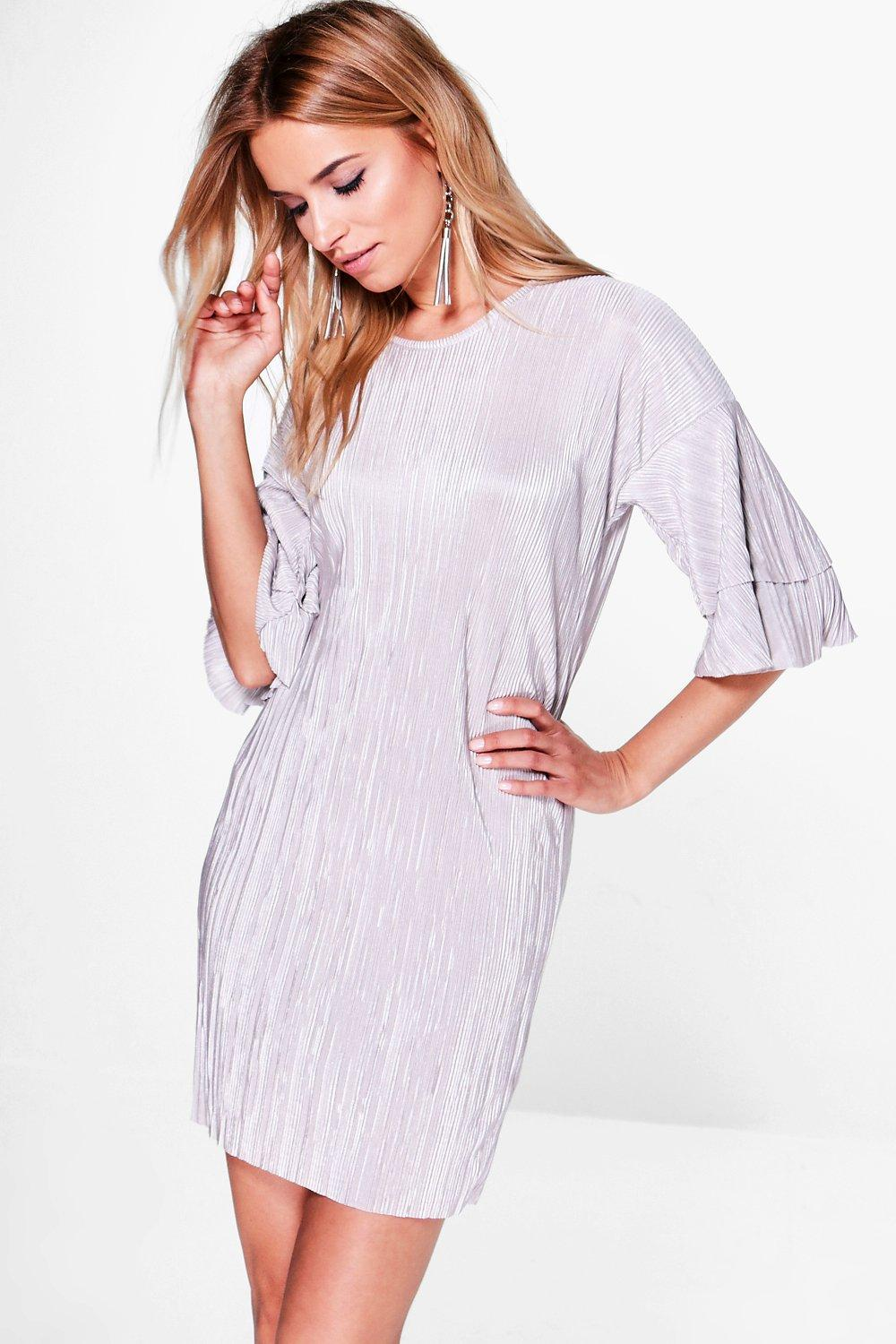 Marie Tiered Sleeve Shift Dress