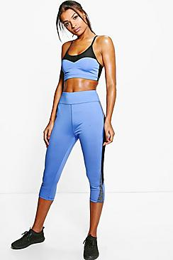 Aimee Fit Capri Running Leggings