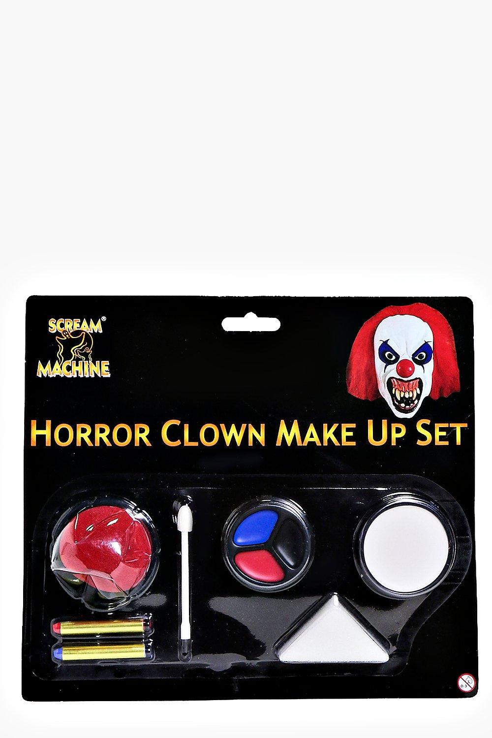 Halloween Horror Clown Make Up Set