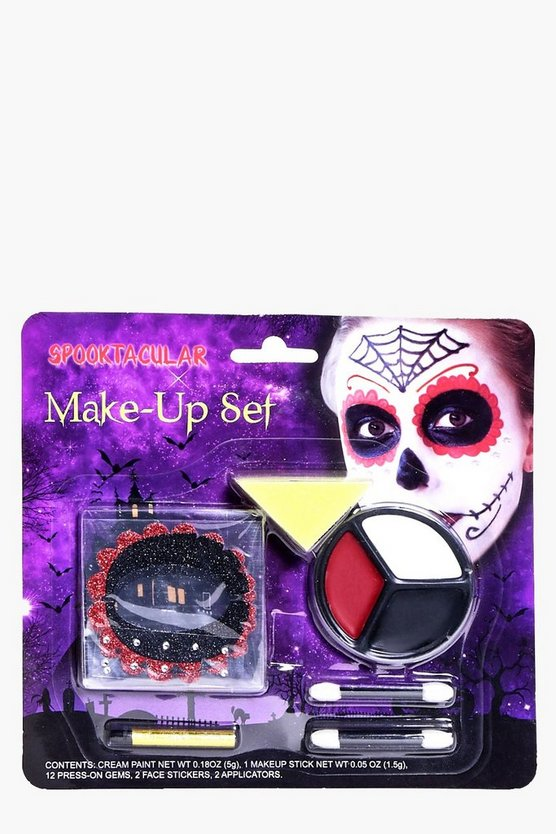 Halloween Day of the Dead Make Up Kit