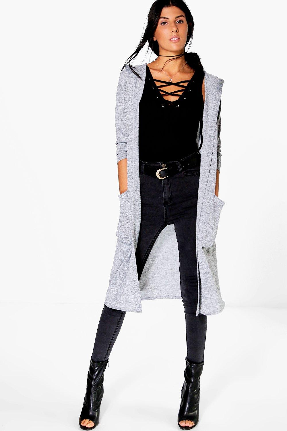Grace Maxi Hooded Cardigan