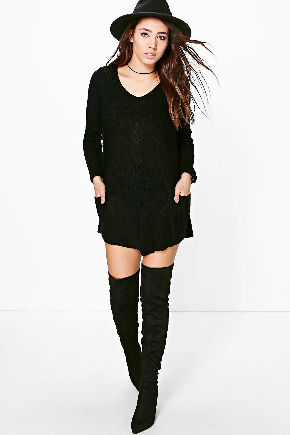 Grace Knitted Swing Dress