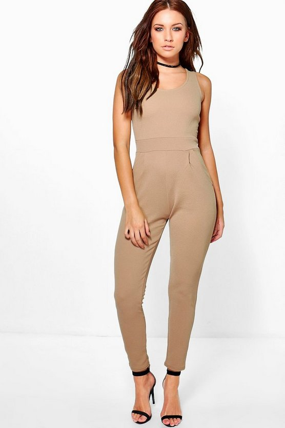 Jen Tailored Stretch Jumpsuit