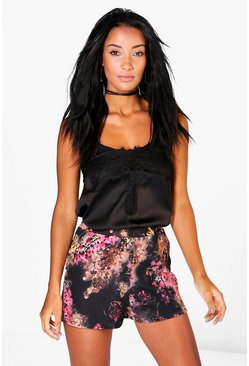 Emily Floral Print Shorts