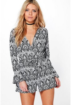 Charlotte Wrap Front Playsuit