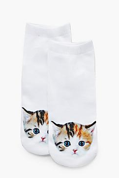 Mya Kitten Ankle Socks
