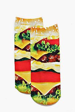 Kayla Burger Ankle Socks