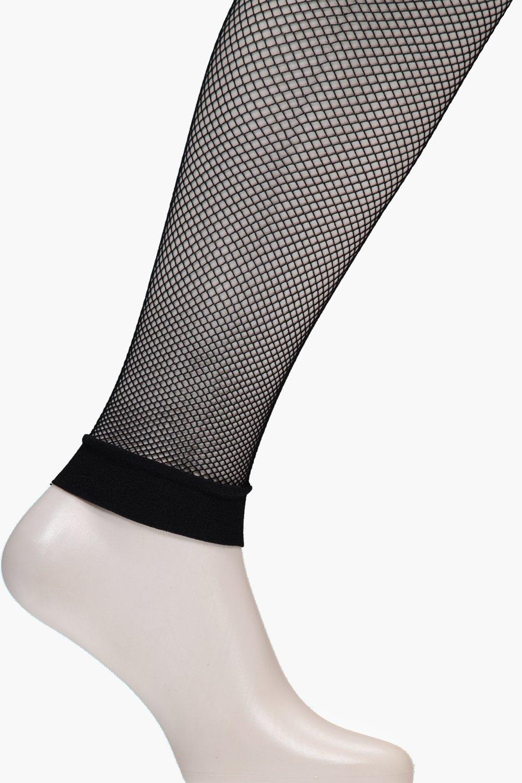 Footless Fishnet Tights black