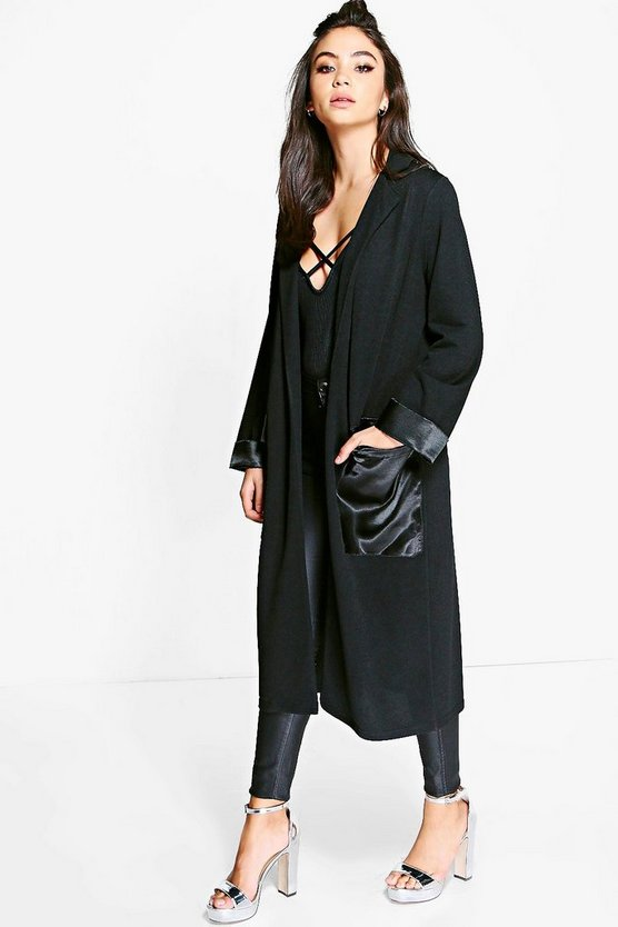 Rosie Satin Pocket Duster