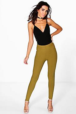 Aubrey Highwaist Ribbed Leggings
