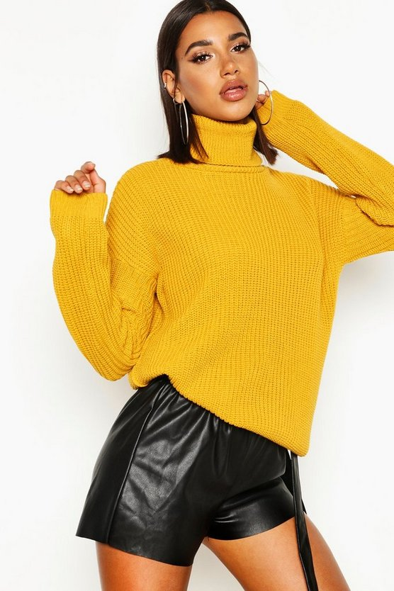 Isabel Fisherman Roll Neck Jumper
