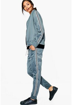 Eva Fit Sports Luxe Tracksuit Bottoms