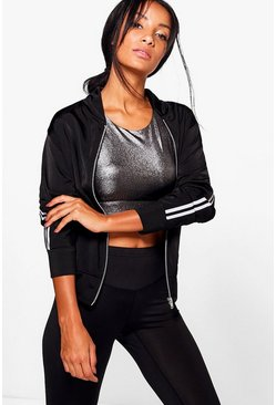 Lola Fit Sports Luxe Bomber Jacket