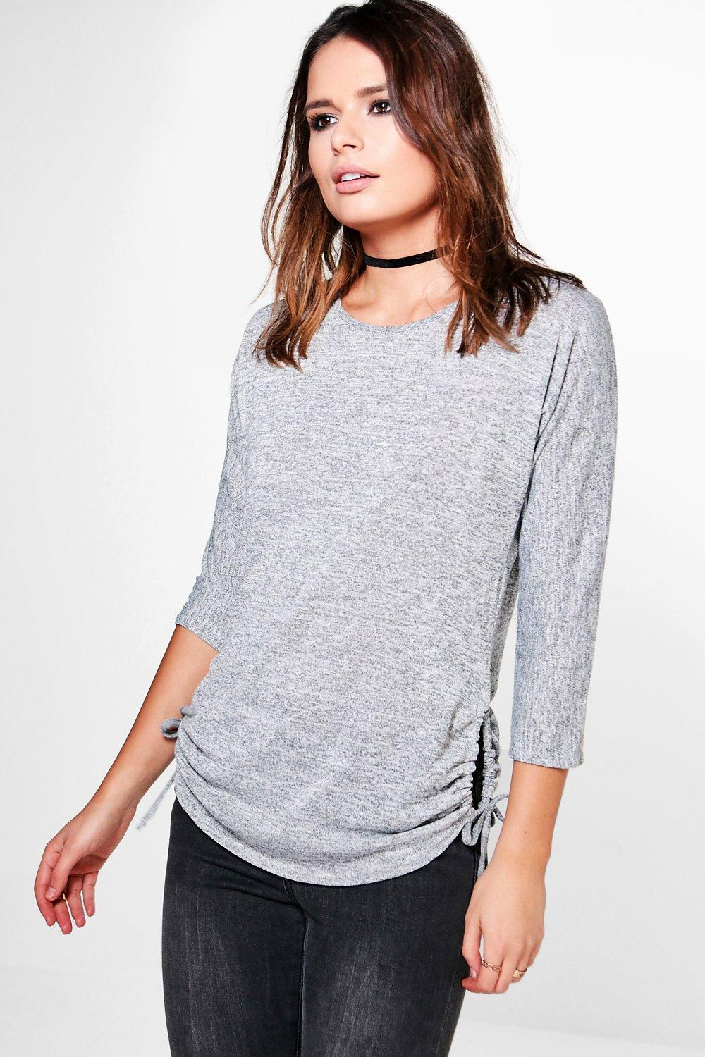 Annabelle Long Sleeve Drawstring T-Shirt